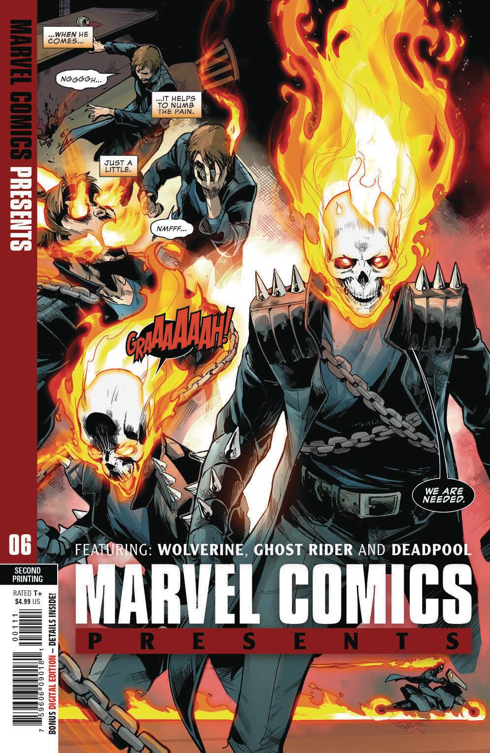 07/24/2019 MARVEL COMICS PRESENTS #6 2ND PRINT VARIANT