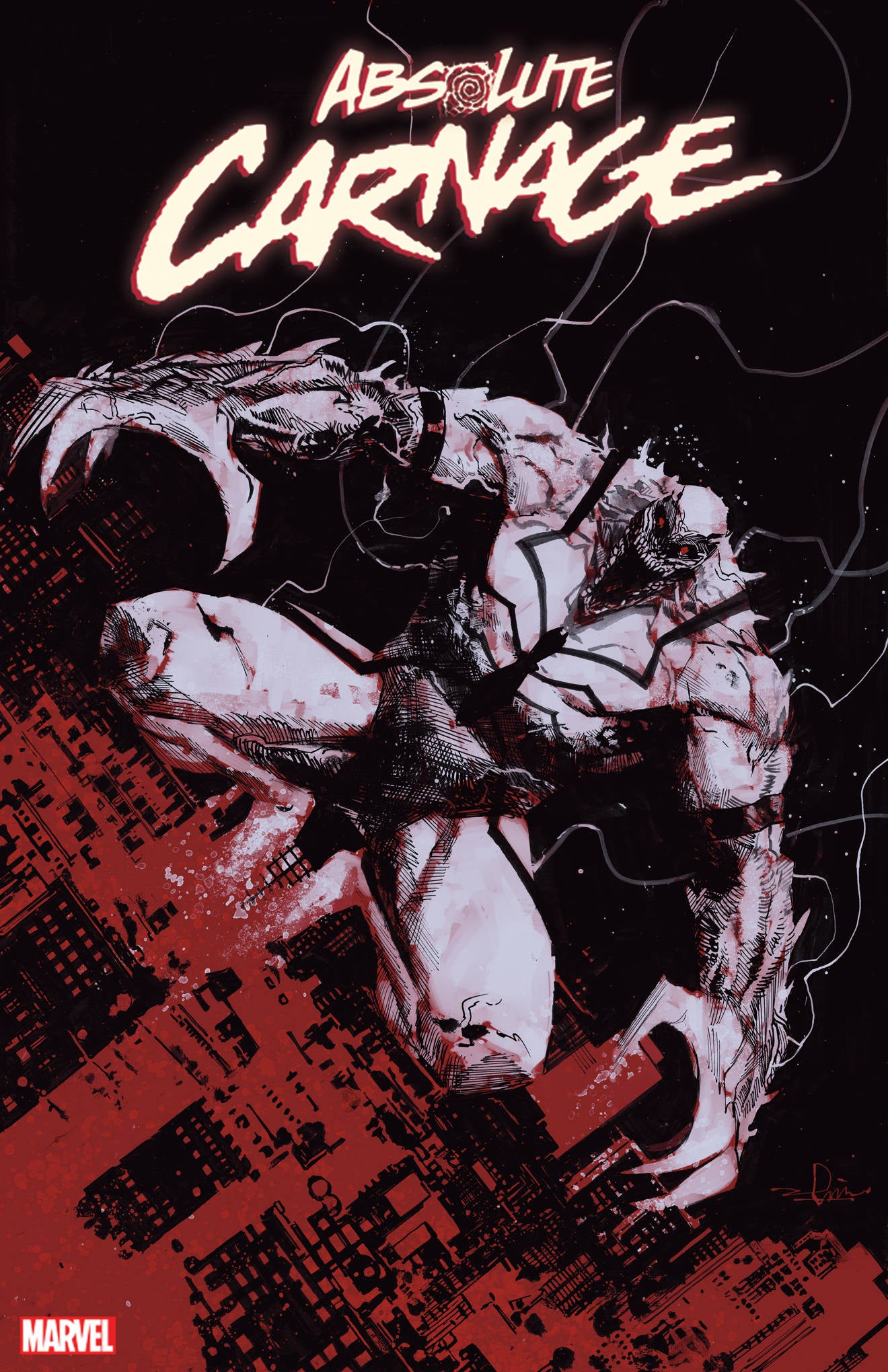 10/16/2019 ABSOLUTE CARNAGE #4 (OF 5) ZAFFINO CODEX 1:25 VARIANT