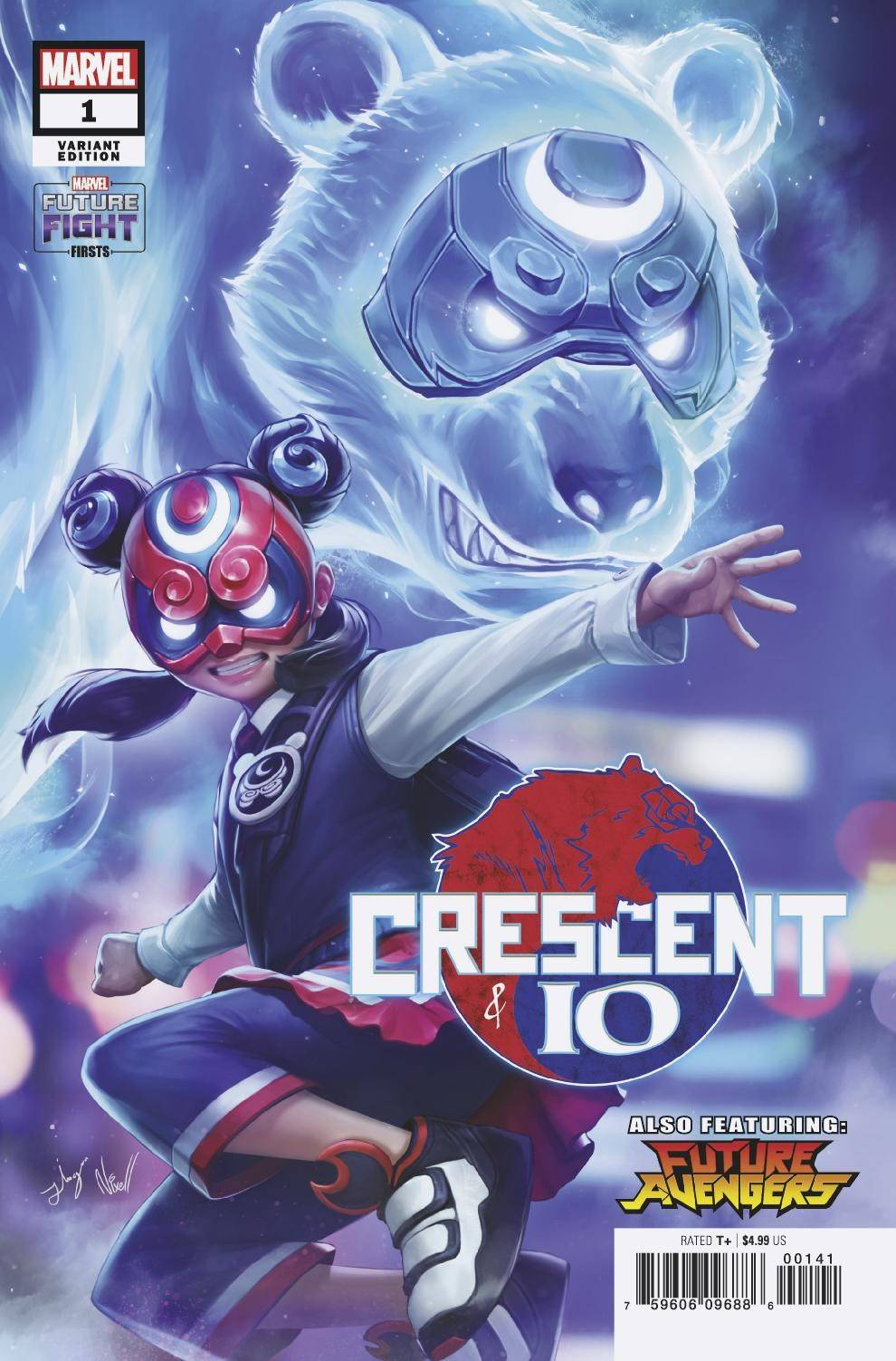 11/06/2019 FUTURE FIGHT FIRSTS CRESCENT & IO #1 1:25 VARIANT