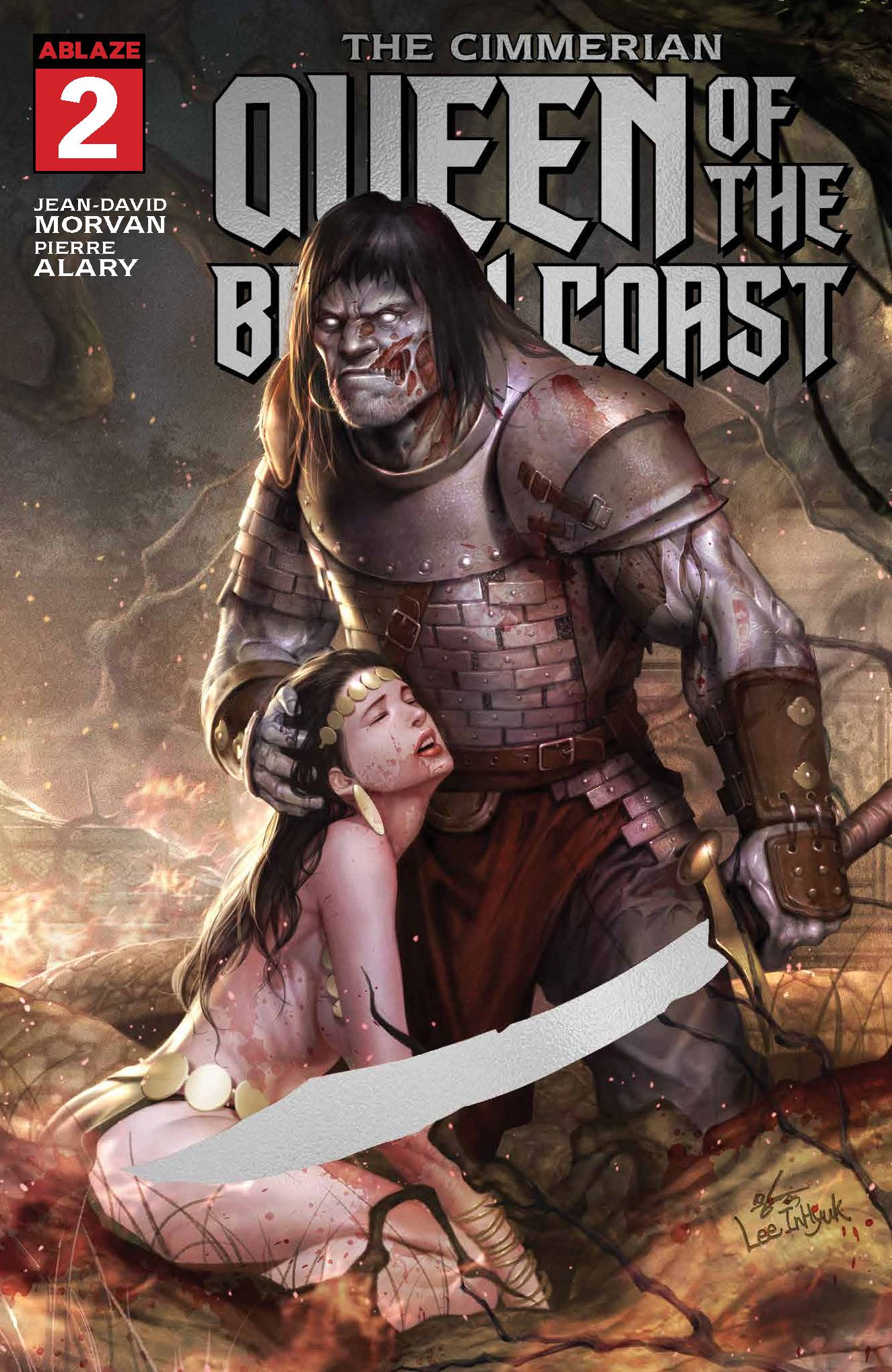 03/25/2020 CIMMERIAN QUEEN OF BLACK COAST #2 1:10 ZOMBIE FOIL VARIANT