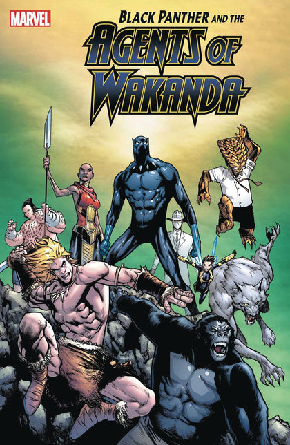 11/13/2019 BLACK PANTHER AND AGENTS OF WAKANDA #3 RAMOS 1:25 VARIANT