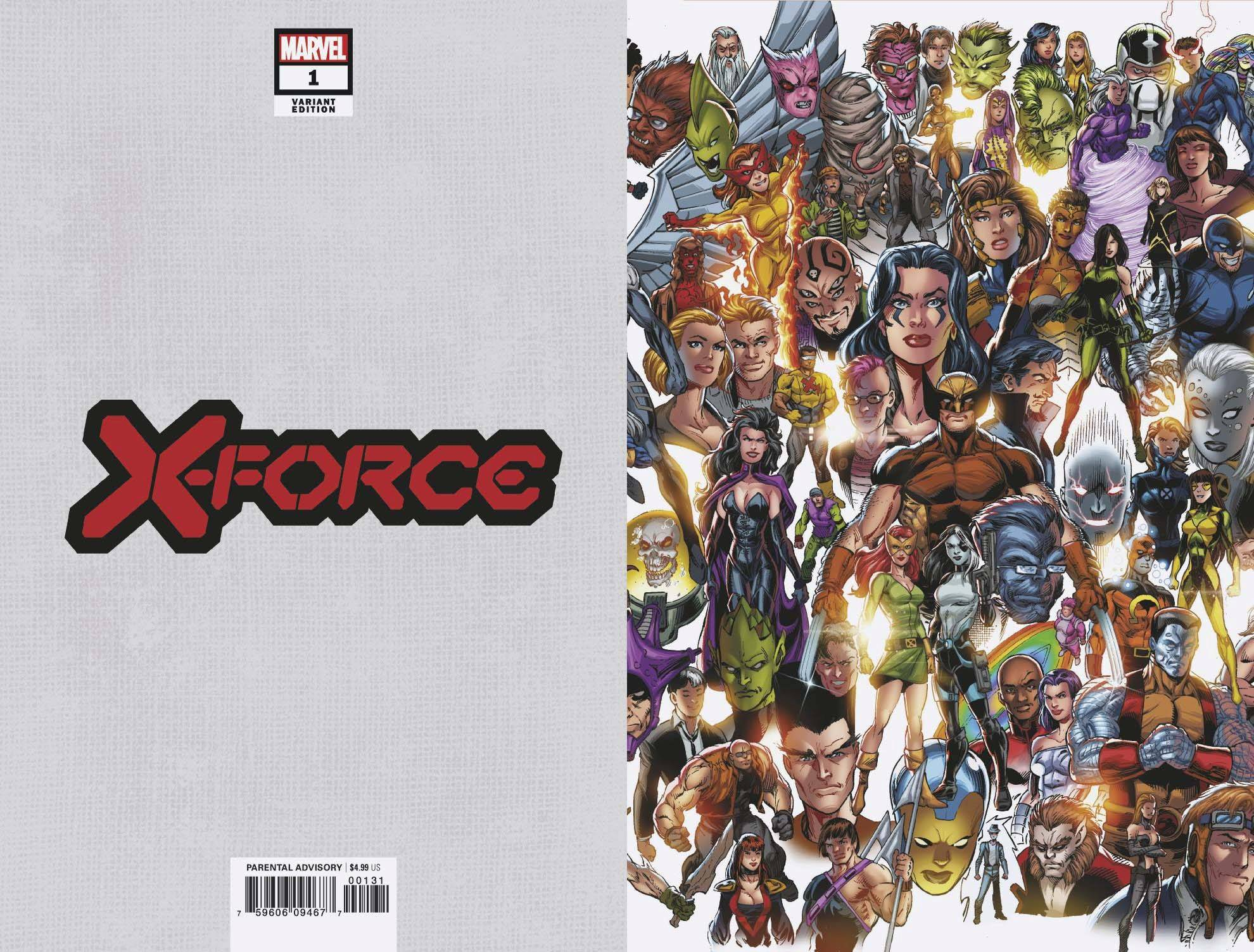 11/06/2019 X-FORCE #1 BAGLEY EVERY MUTANT EVER VAR DX