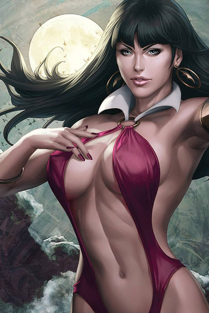 09/18/2019 VAMPIRELLA #3 1:25 ARTGERM VIRGIN SNEAK PEEK FOC VARIANT