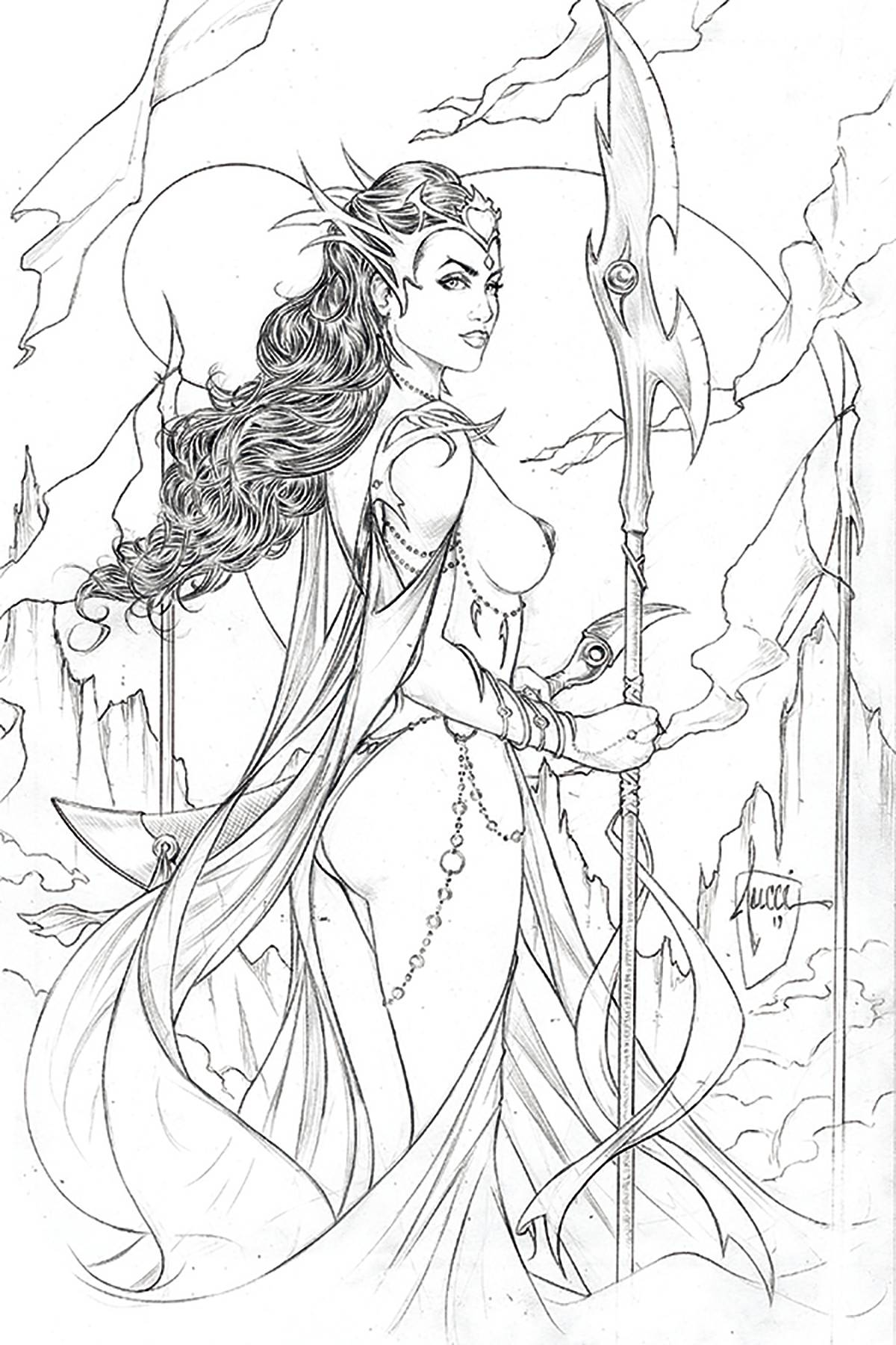 12/11/2019 DEJAH THORIS (2019) #1 TUCCI PENCIL 1:10 VARIANT