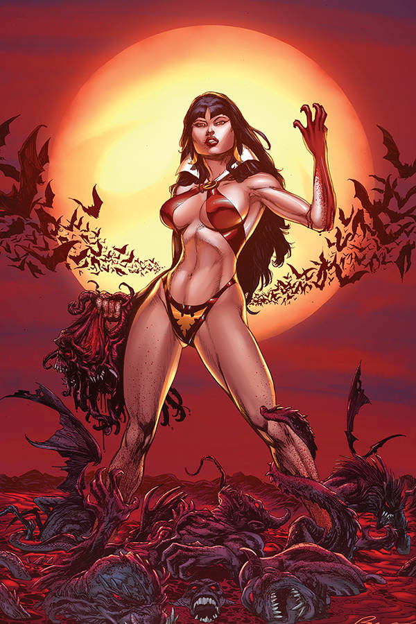 10/09/2019 VENGEANCE OF VAMPIRELLA #1 BUZZ BLOOD MOON 1:11 VARIANT