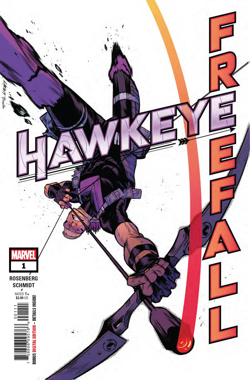 01/01/2020 HAWKEYE FREEFALL #1 (Free with $10 Purchase.  Limited 1 Per Order)
