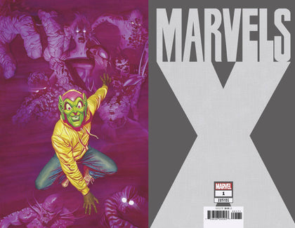 01/08/2020 MARVELS X #1 (OF 6) ALEX ROSS 1:200 VIRGIN VARIANT