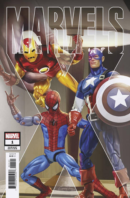 01/08/2020 MARVELS X #1 (OF 6) HORN 1:50 VARIANT