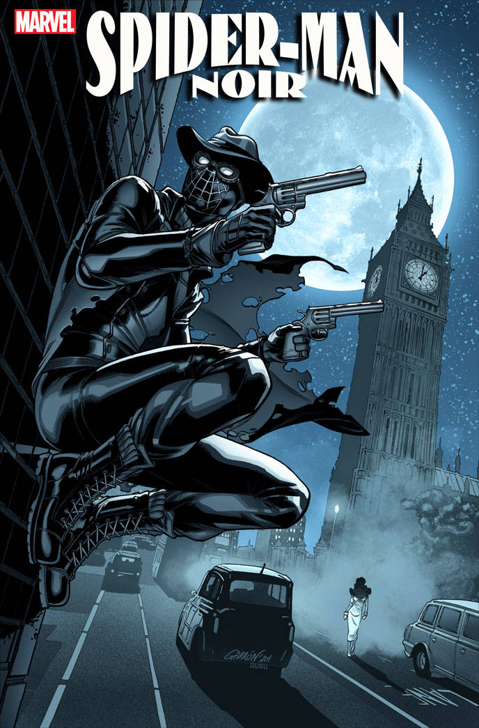 03/04/2020 SPIDER-MAN NOIR #1 (OF 5) GARRON 1:50 VARIANT