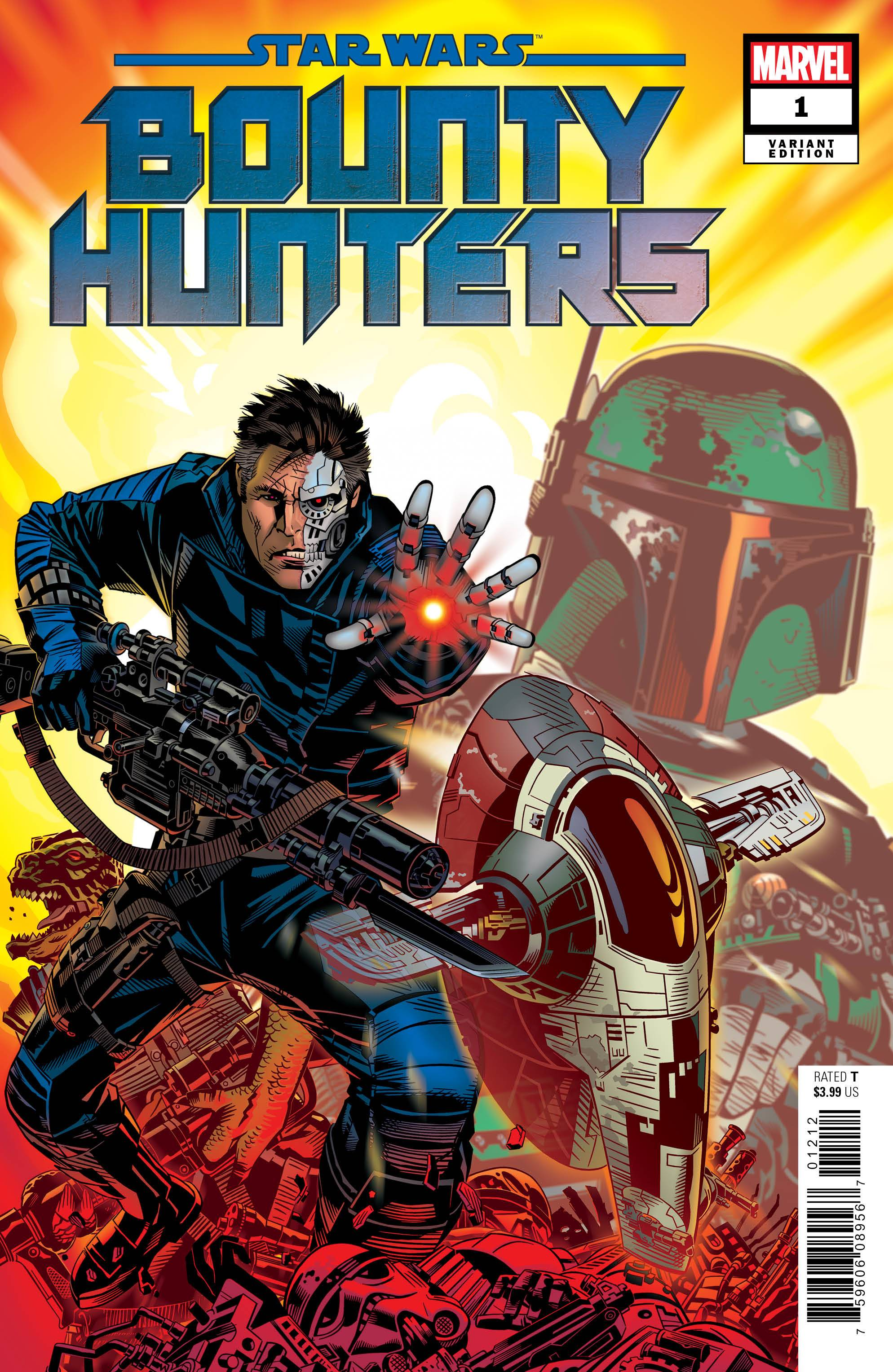 03/11/2020 STAR WARS BOUNTY HUNTERS #1 1:25 VARIANT