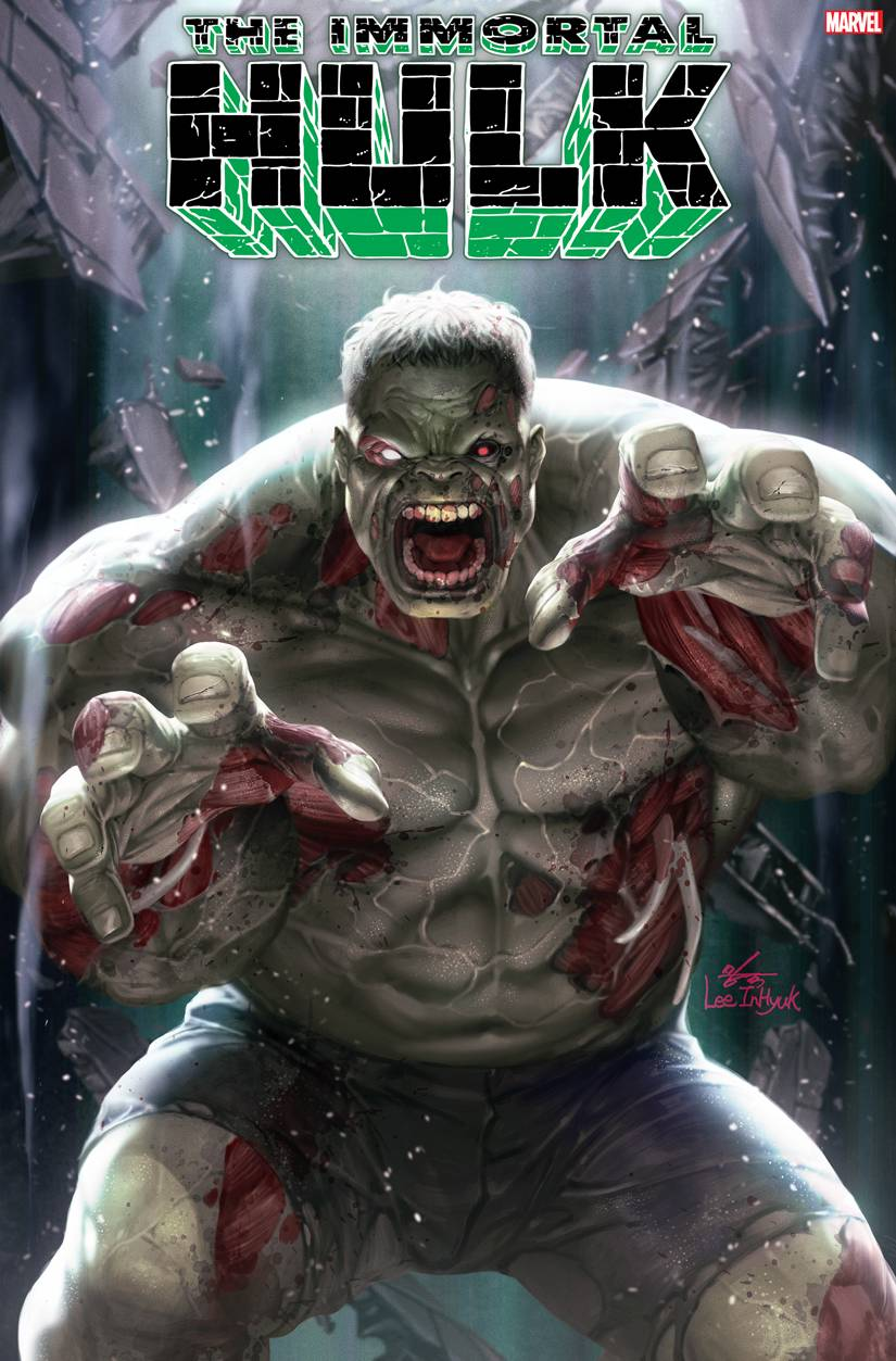 04/08/2020 IMMORTAL HULK #34 INHYUK LEE MARVEL ZOMBIES VAR (NEW RELEASE DATE 06/24/2020)