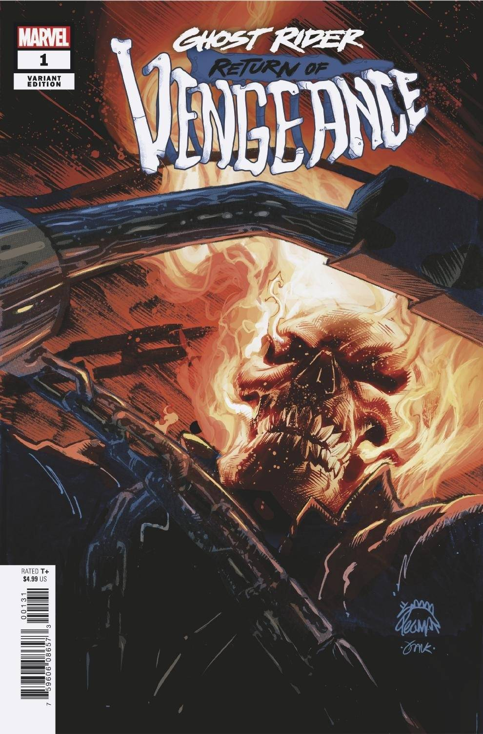 12/30/2020 GHOST RIDER ANNUAL #1 STEGMAN VAR (NEW RELEASE 12/30/2020 RETITLED TO GHOST RIDER: RETURN OF VENGEANCE)