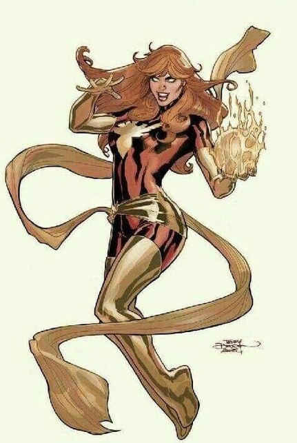 PHOENIX RESURRECTION #1 DODSON DARK PHOENIX VIRGIN VARIANT 2017