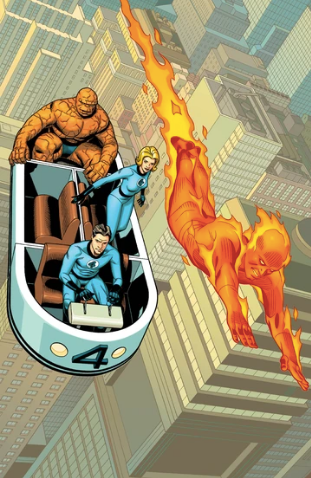 FANTASTIC FOUR #1 SPROUSE VIRGIN VARIANT 2018