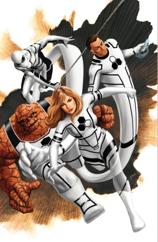 FANTASTIC FOUR #1 EPTING VIRGIN VARIANT 2018