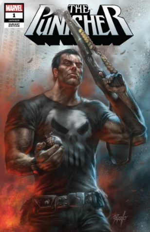 PUNISHER #1 (OF 5) PARRILLO VARIANT 2018