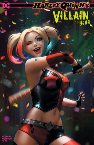 HARLEY QUINN VILLAIN OF THE YEAR #1 EJIKURE EXCLUSIVE VARIANT 2019