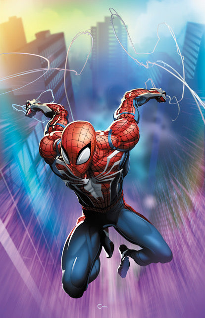 Spider-Geddon #0 NYCC Crain Virgin Variant Scorpion Comics 2018