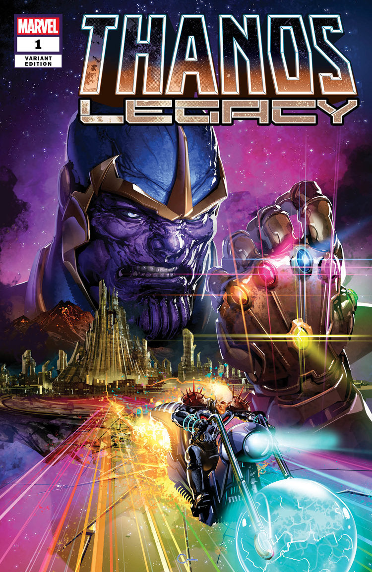 Thanos Legacy #1 Crain Trade Dress Variant Scorpion Comics 2018