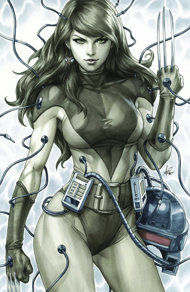 WEAPONS OF MUTANT DESTRUCTION #1 Copic Virgin Artgerm Variant 2017