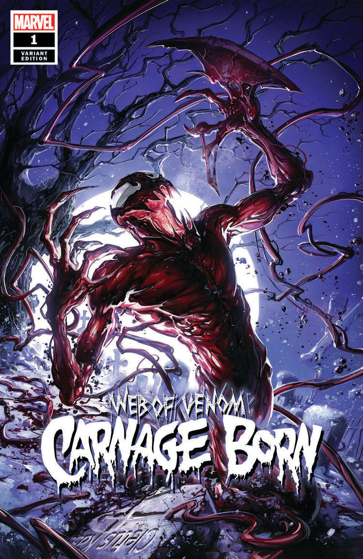 Web of Venom Carnage Born #1 Crain Trade Dress Variant Scorpion Comics 2018