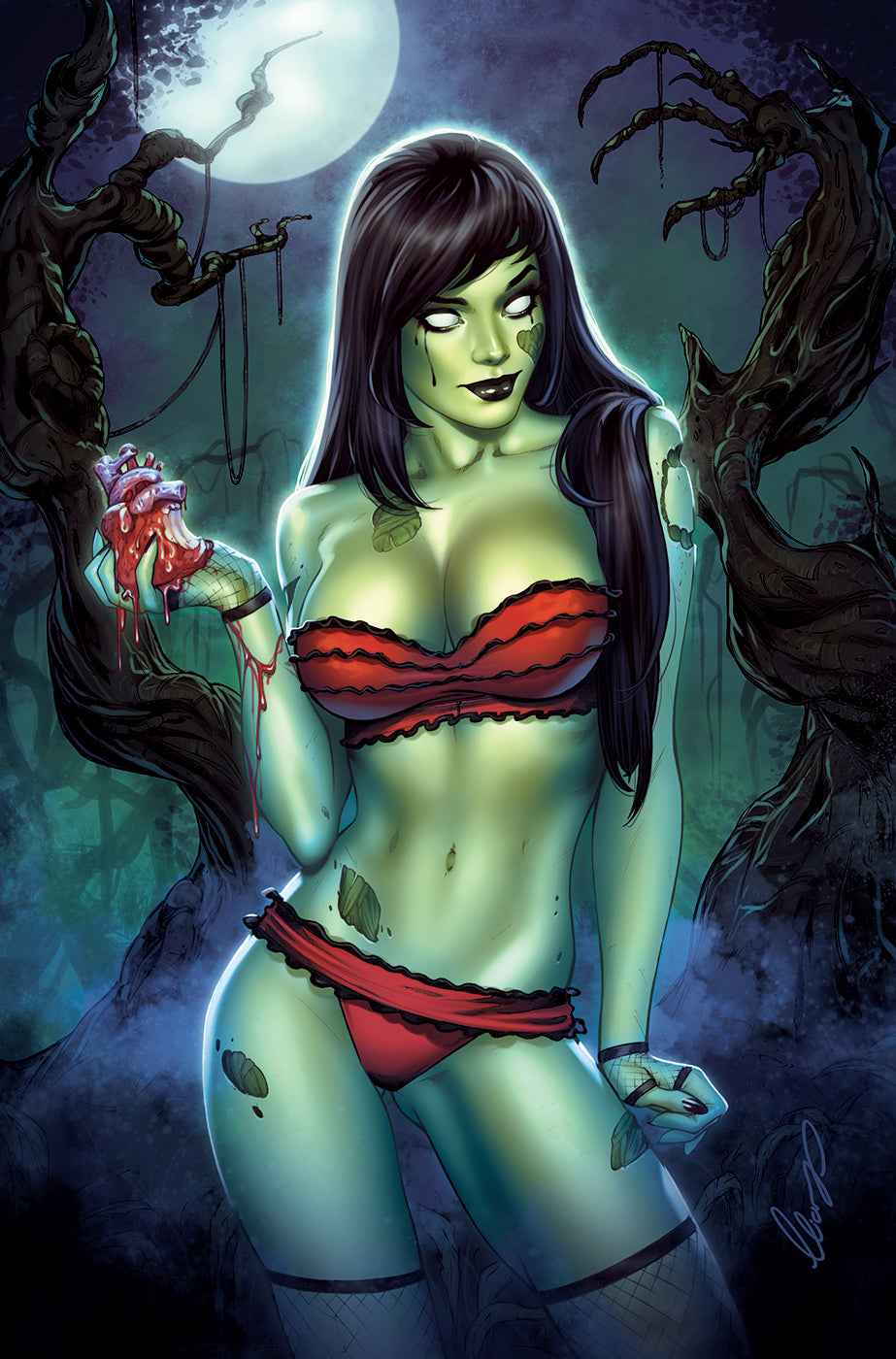 2018 ZOMBIE TRAMP #50 SSCOE EXCLUSIVE ELIAS CHATZOUDIS VIRGIN VARIANT (NOT NEAR MINT)