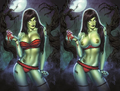07/18/2018 ZOMBIE TRAMP #50 SANCTUM SANCTORUM C&O STORE EXCLUSIVE ELIAS CHATZOUDIS VIRGIN VARIANT SET