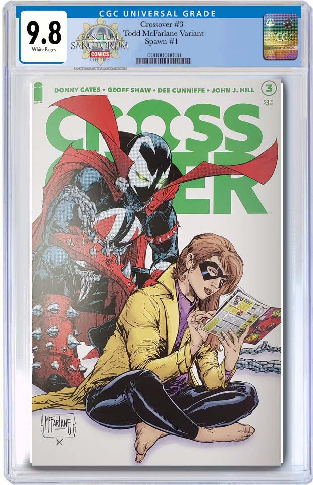 CROSSOVER #3  McFarlane Variant Cates Spawn