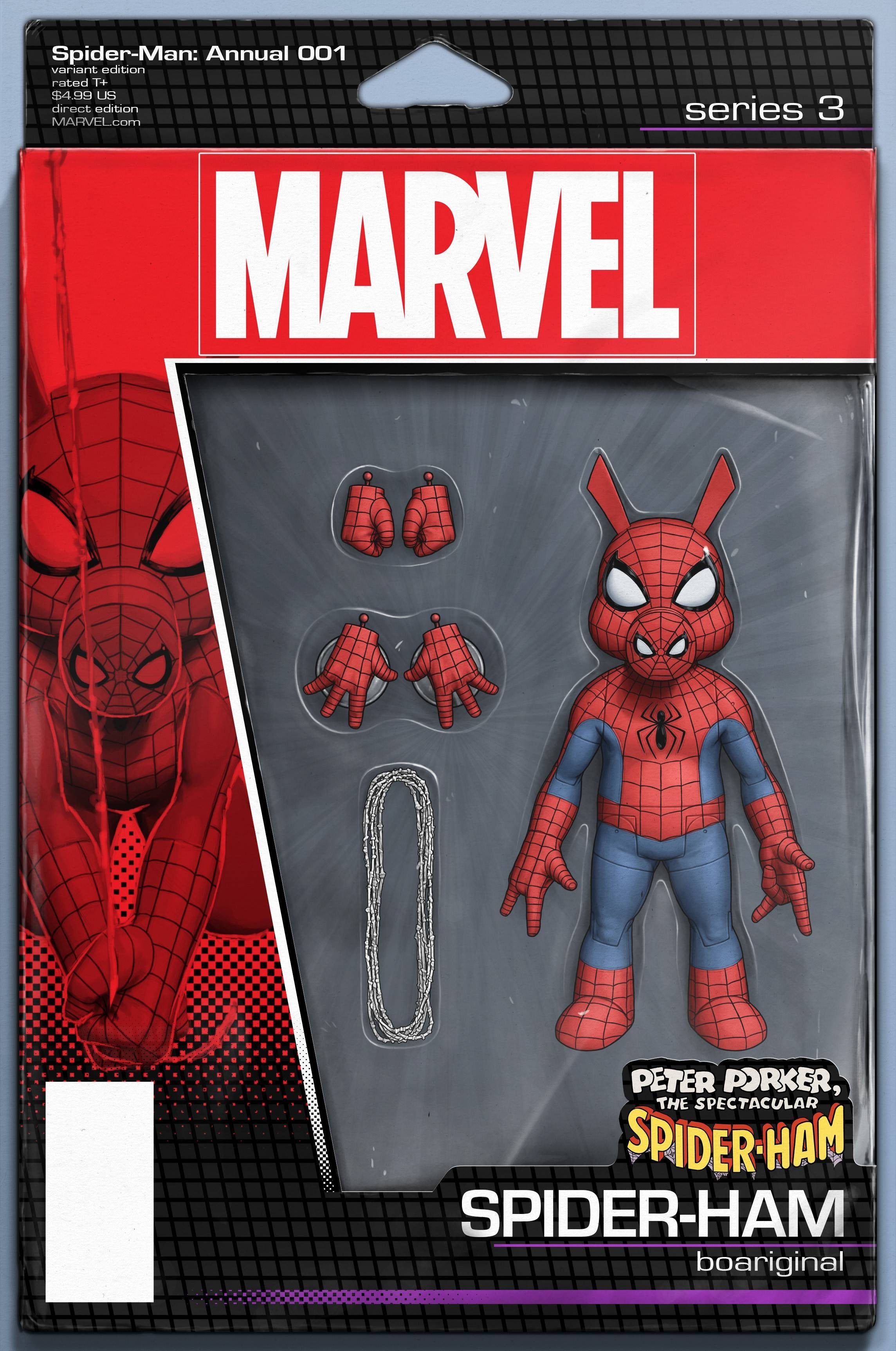 06/26/2019 SPIDER-MAN ANNUAL #1 CHRISTOPHER ACTION FIGURE VAR