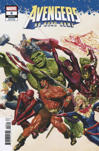 03/20/2019 AVENGERS NO ROAD HOME #6 (OF 10) ALEX ROSS 1:100 VAR