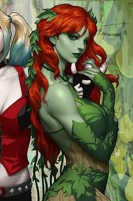 09/04/2019 HARLEY QUINN & POISON IVY #1 (OF 6) POISON IVY CARD STOCK ARTGERM VARIANT