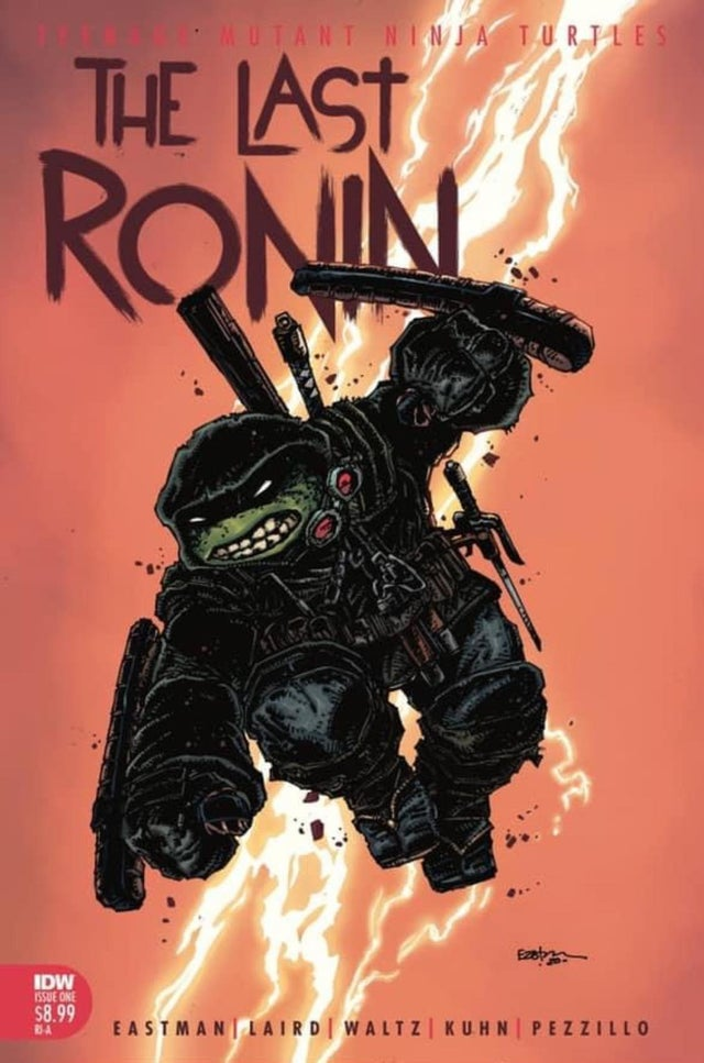 08/19/2020 TMNT THE LAST RONIN #1 (OF 5) 1:10 EASTMAN VARIANT (NEW RELEASE 10/28/2020)