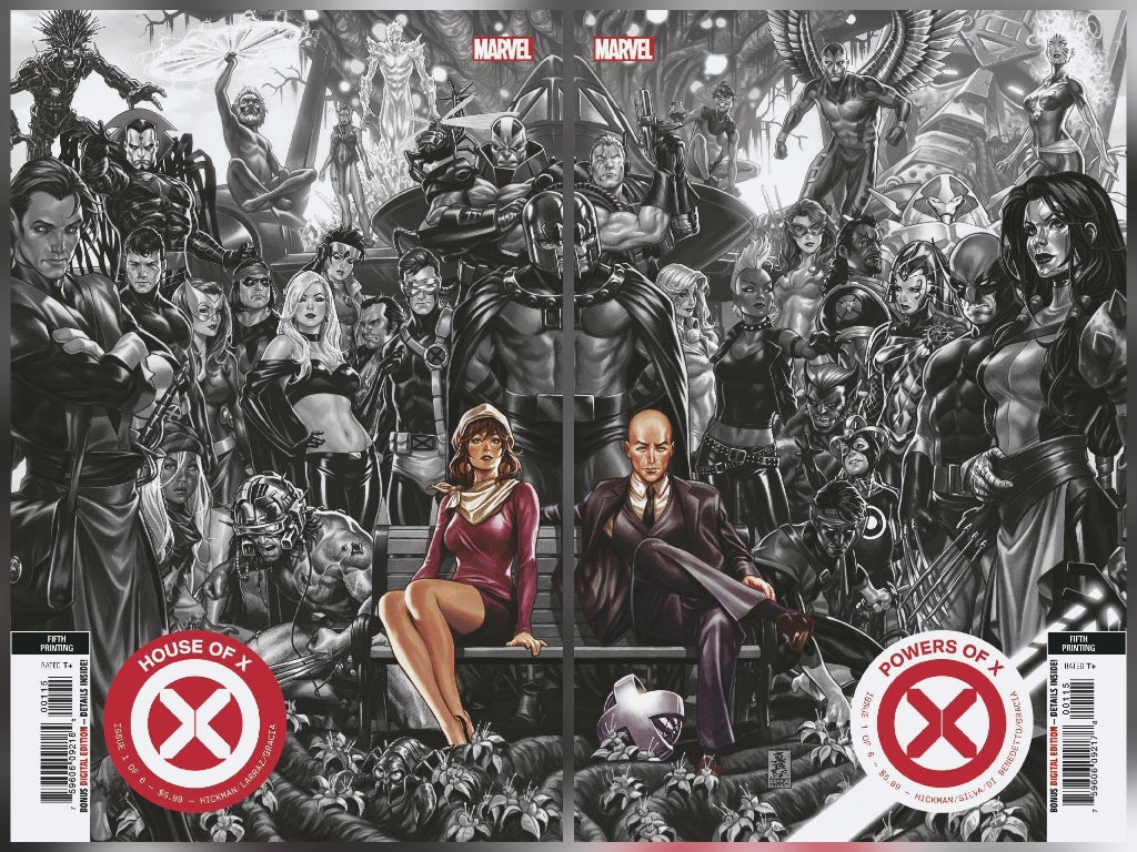 11/13/2019 HOUSE OF X #1 5TH PTG + POWERS OF X #1 5TH PTG BROOKS VARIANT SET