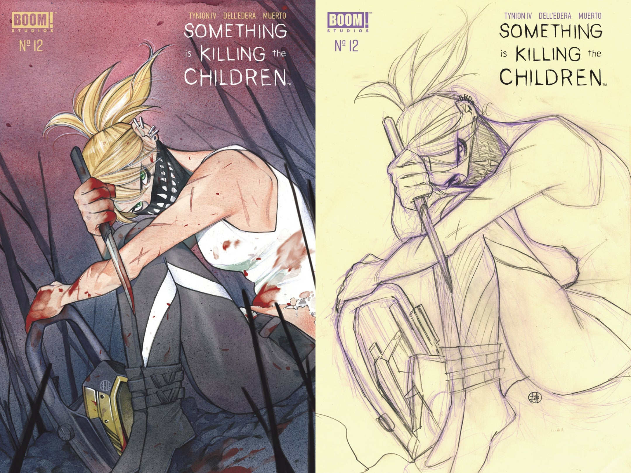 11/18/2020 SOMETHING IS KILLING CHILDREN #12 SSCO PEACH MOMOKO TRADE DRESS & PENCIL TRADE DRESS VARIANT SET