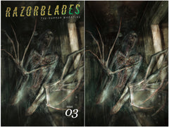 03/31/2021 RAZORBLADES:  THE HORROR MAGAZINE #3 SSCO & SCC DAVID ROMERO EXCLUSIVE VARIANT