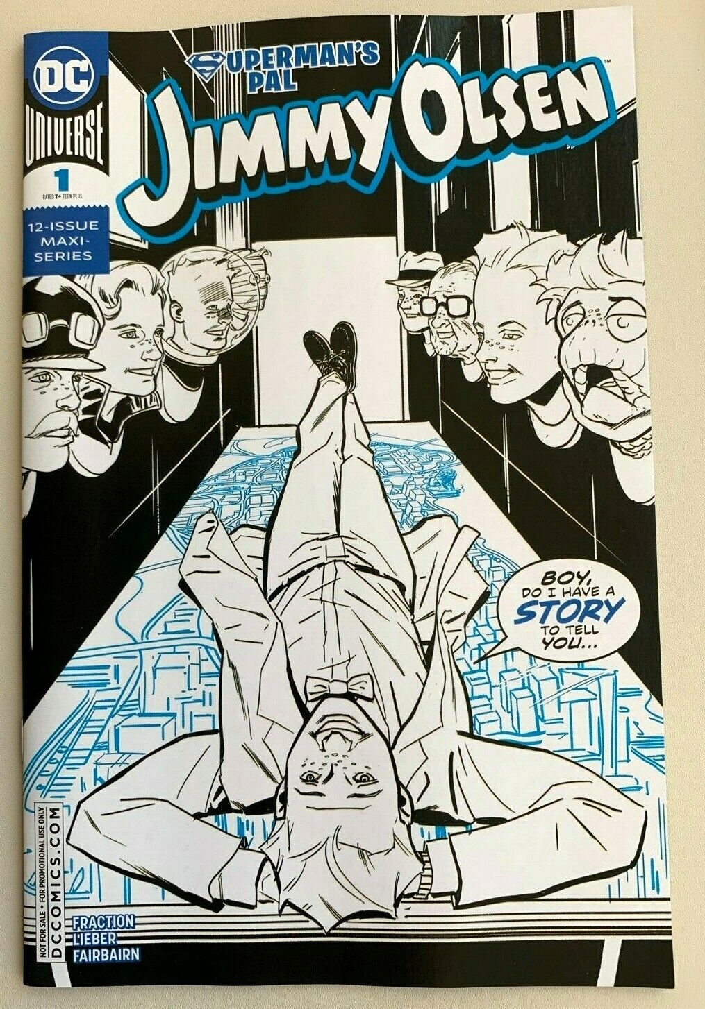 Superman's Pal Jimmy Olsen #1 SDCC Diamond Retailer Variant DC Comics 2019