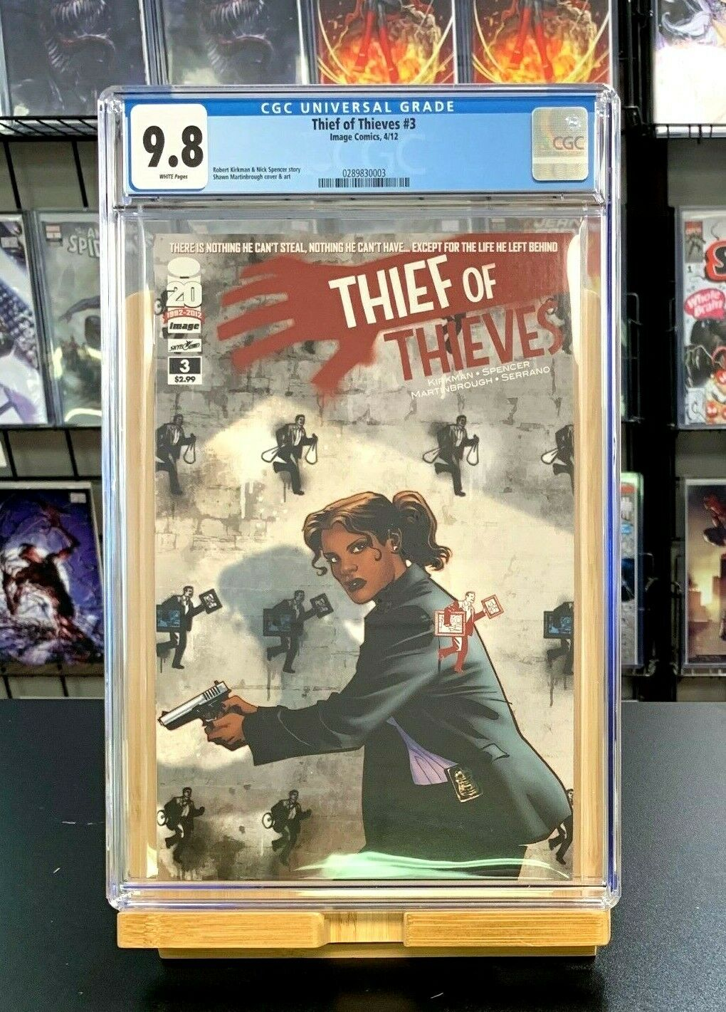 9.8 CGC Thief of Thieves #3 1st Print Robert Kirkman Image Comics 2012