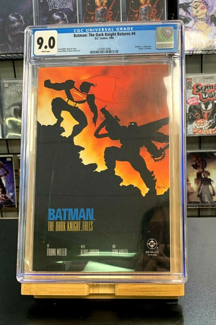 9.0 CGC Batman the Dark Knight Returns #4