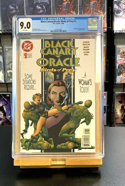 9.0 CGC Black Canary Oracle Birds of Prey #1 DC Comics 1996