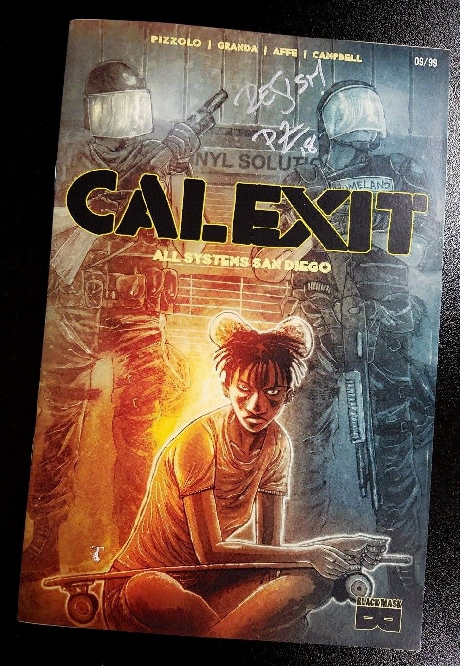 Calexit #1 All Systems San Diego (Limited to 99) SDCC SIGNED 2018