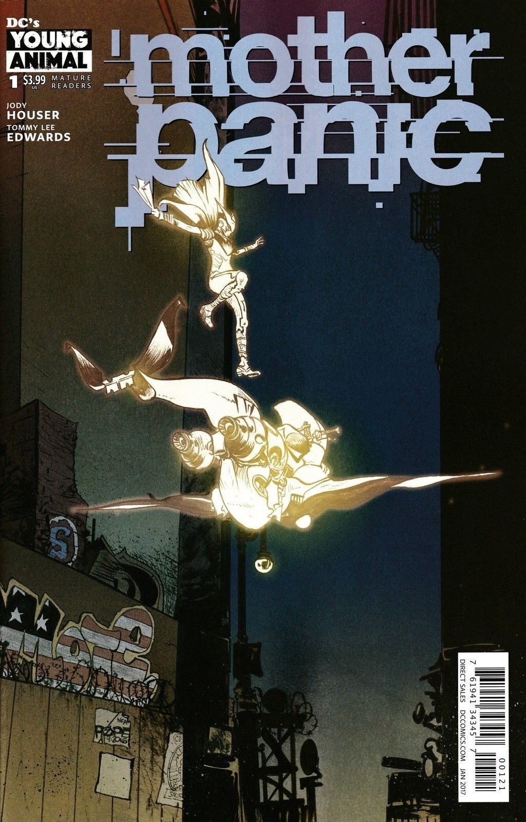 MOTHER PANIC #1 POPE VARIANT 2016