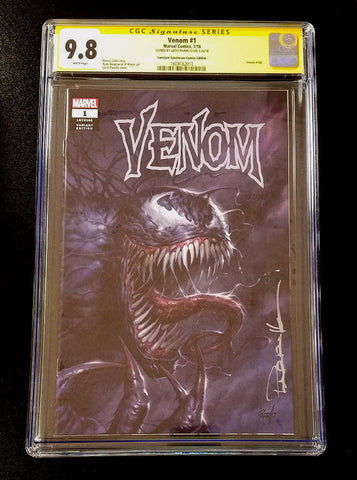 9.8 CGC Signature Series Venom #1 Variant Signed Parrillo Marvel Comics