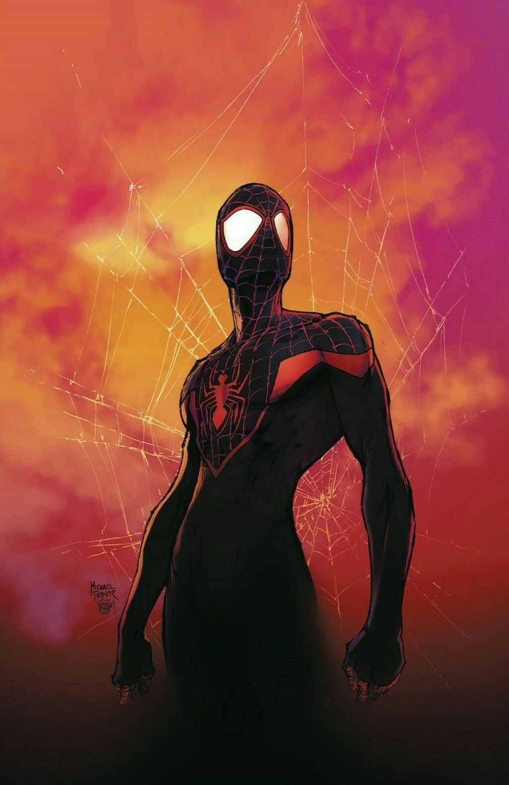 07/12/2017 SPIDER-MEN II #1 COVER C MICHAEL TURNER VARIANT (1ST EVIL MILES)