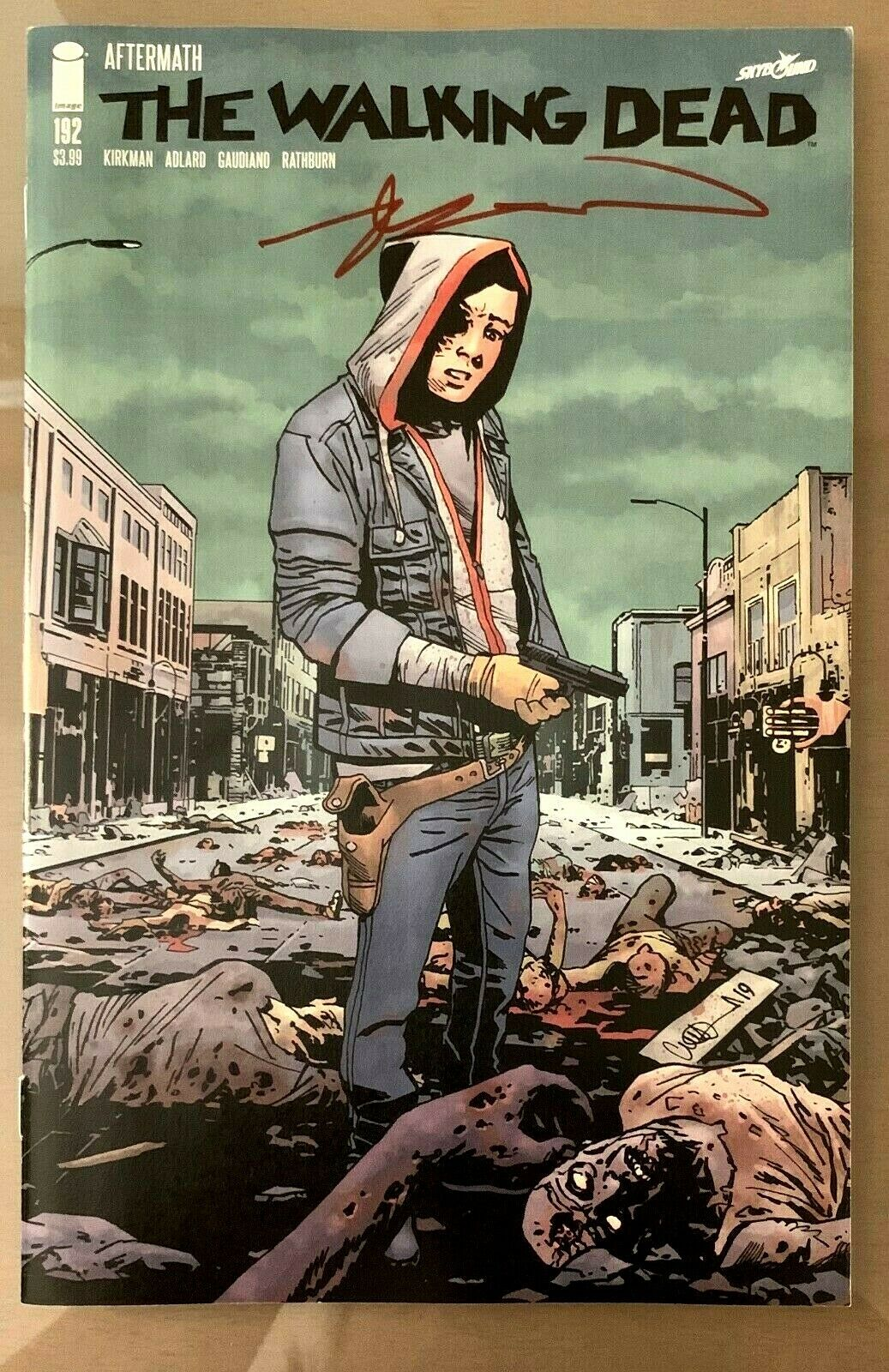 Walking Dead #192 1st Print SIGNED by Robert Kirkman Image Comics 2019
