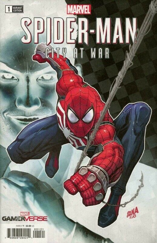 03/20/2019 MARVELS SPIDER-MAN CITY AT WAR #1 (OF 6) 1:50 NAKAYAMA VAR