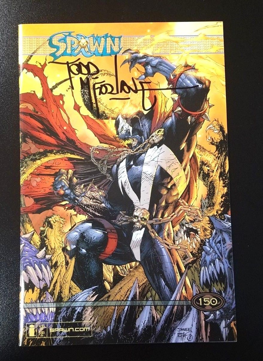 Spawn #150 Jim Lee Variant Signed by Todd McFarlane 2005