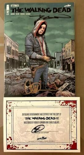 Walking Dead #192 1st Print SIGNED by Robert Kirkman & Charlie Adlard 2019
