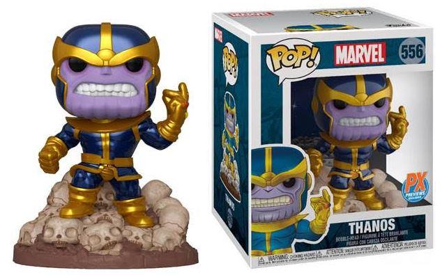 12/18/2019 MARVEL HEROES THANOS SNAP 6IN PX DELUXE FUNKO POP (BF)