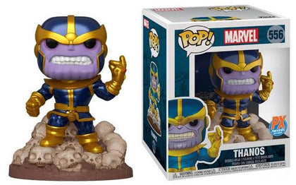 12/18/2019 MARVEL HEROES THANOS SNAP 6IN PX DELUXE FUNKO POP