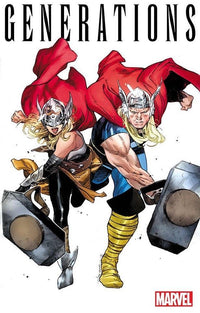 Thor & Mighty Thor by Olivier Coipel New Rolled POSTER 24x36 Marvel Comics 2017